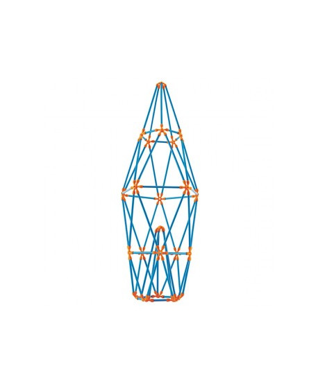 Juego de construcción torres icónicas flexistick