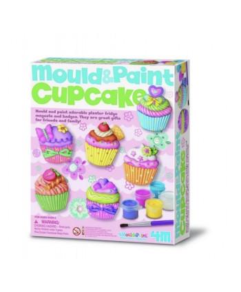 Moldea y pinta cup cakes