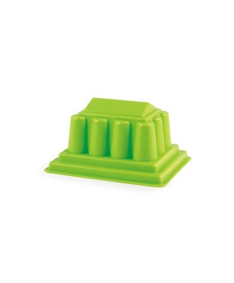 Molde partenon verde para arena