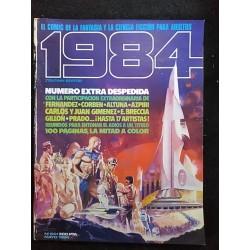 1984 NUMERO EXTRA DESPEDIDA