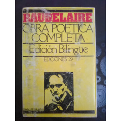 Baudelaire. Obra poética...