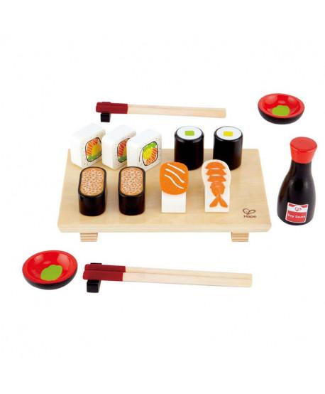 Set de madera Sushi