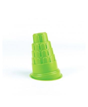 Molde torre de pisa verde...