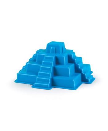 Molde pirámide maya azul...