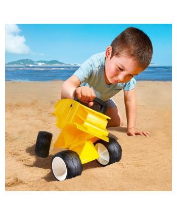 Camión para la arena amarillo