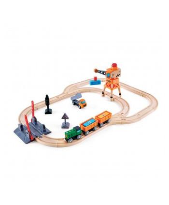 Circuito de tren accionado...