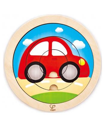 Puzzle giratorio vehículos
