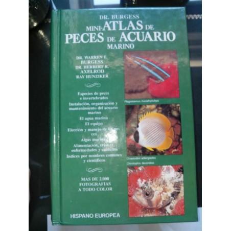 Dr. Burgess Mini- Atlas de peces de acuario marino
