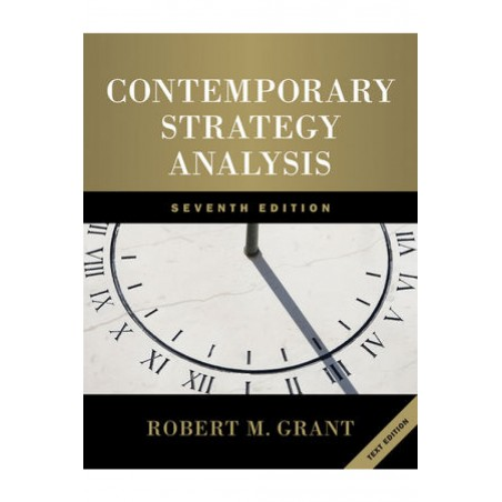 Contemporany Strategy Analysis: Text and Cases