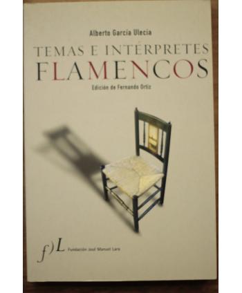 Temas e intérpretes flamencos
