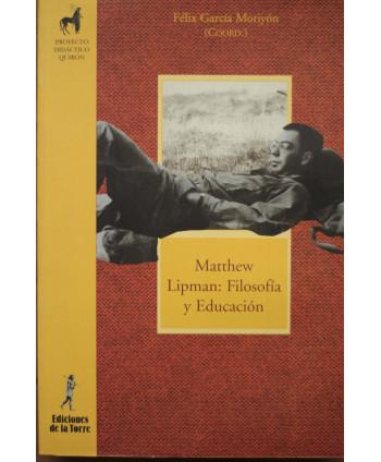 Matthew Lipman: Filosofía y...