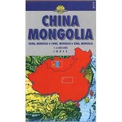 Mapa China mongolia 1:6 000...