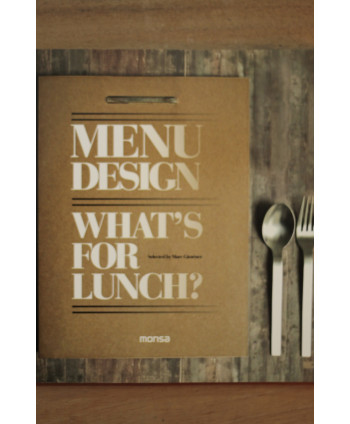 Menu design Whatś for Lunch?