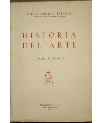 Historia del Arte Tomo Segundo