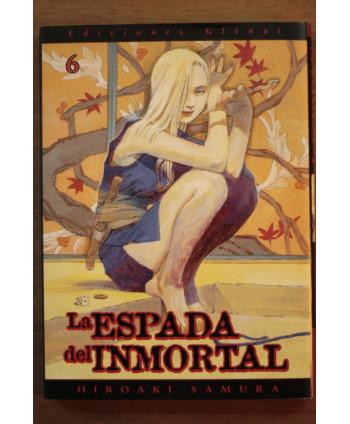 La espada del inmortal 6