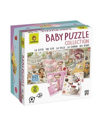 Baby puzzle la ciudad