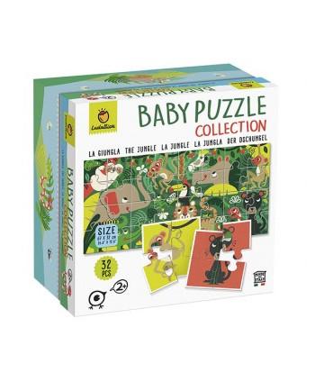 Baby puzzle la jungla