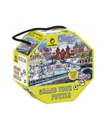 Puzle grand tour moscú 150pcs