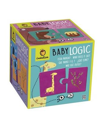 Puzzle baby logic ¿qué comen?