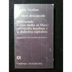 El Marx desconocido....