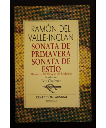 Sonata de Primavera/Sonata...