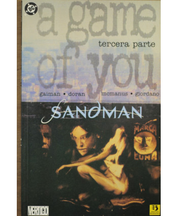 Sandman/ A game of you...