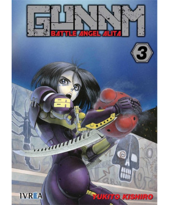 GUNNM BATTLE ANGEL ALITA...